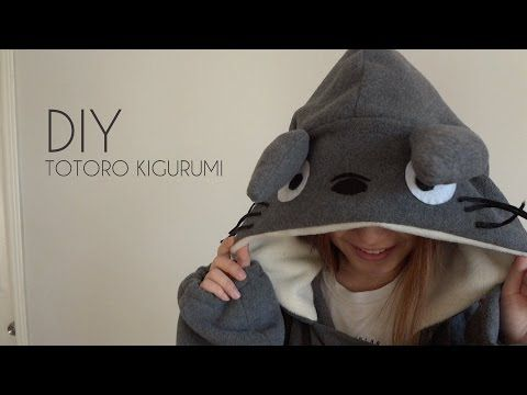 DIY: Totoro Kigurumi/Onesie with Gio - YouTube | Cosplay | Pinterest ...