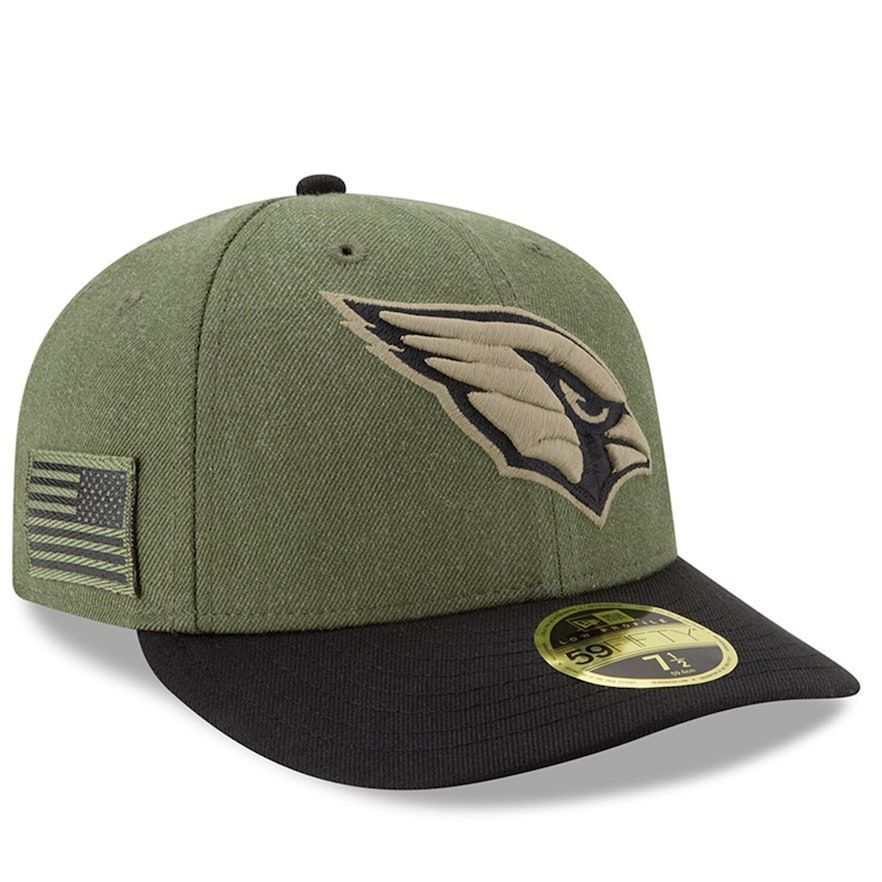 Men's New Era Olive/Black Arizona Cardinals 2018 Salute to Service Sideline Low Profile 59FIFTY Fitted Hat #salutetoservice Men's New Era Olive/Black Arizona Cardinals 2018 Salute to Service Sideline Low Profile 59FIFTY Fitted Hat, Green #salutetoservice Men's New Era Olive/Black Arizona Cardinals 2018 Salute to Service Sideline Low Profile 59FIFTY Fitted Hat #salutetoservice Men's New Era Olive/Black Arizona Cardinals 2018 Salute to Service Sideline Low Profile 59FIFTY Fitted Hat, Green #salutetoservice