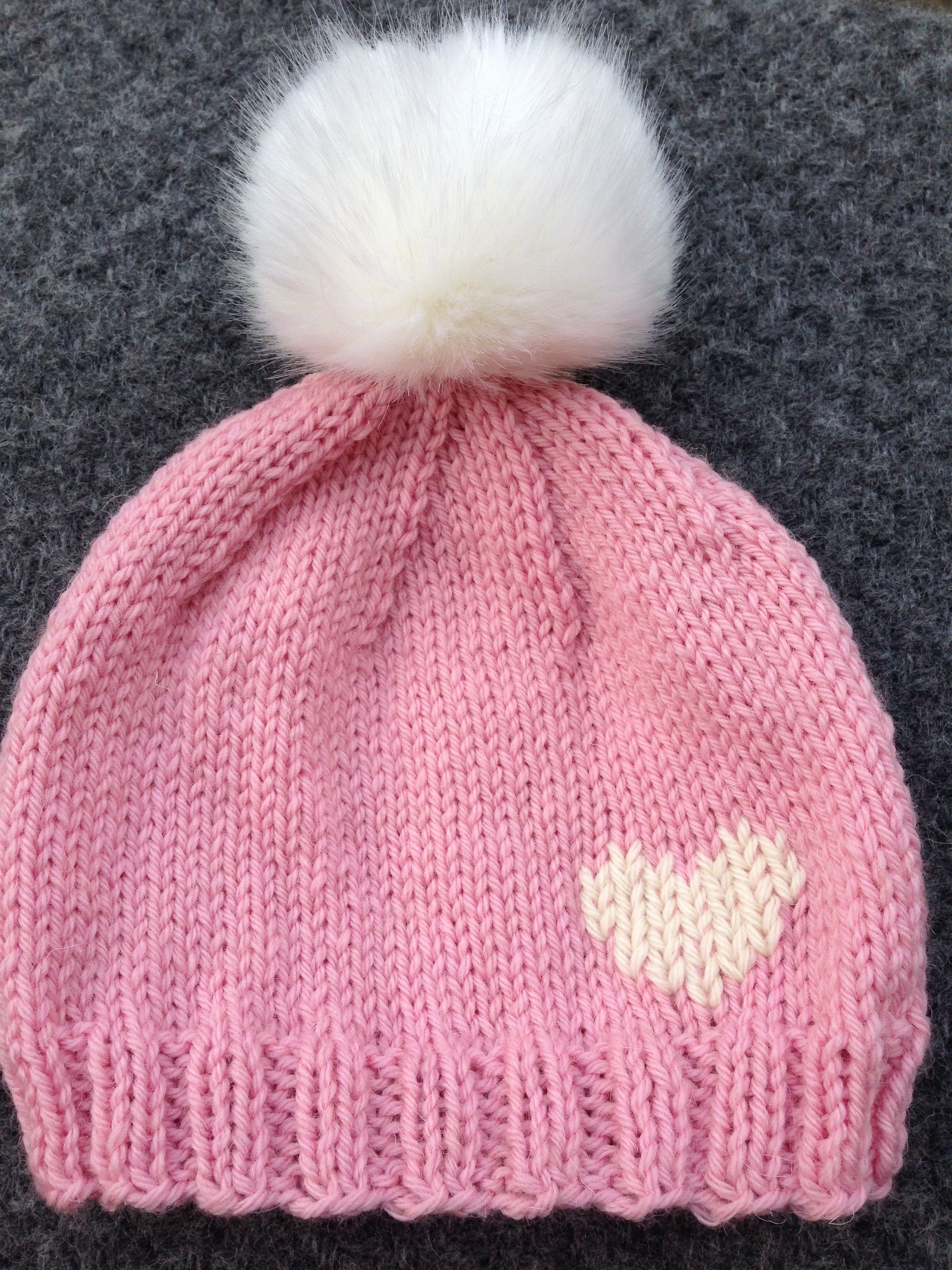how many stitches to knit a newborn hat uk