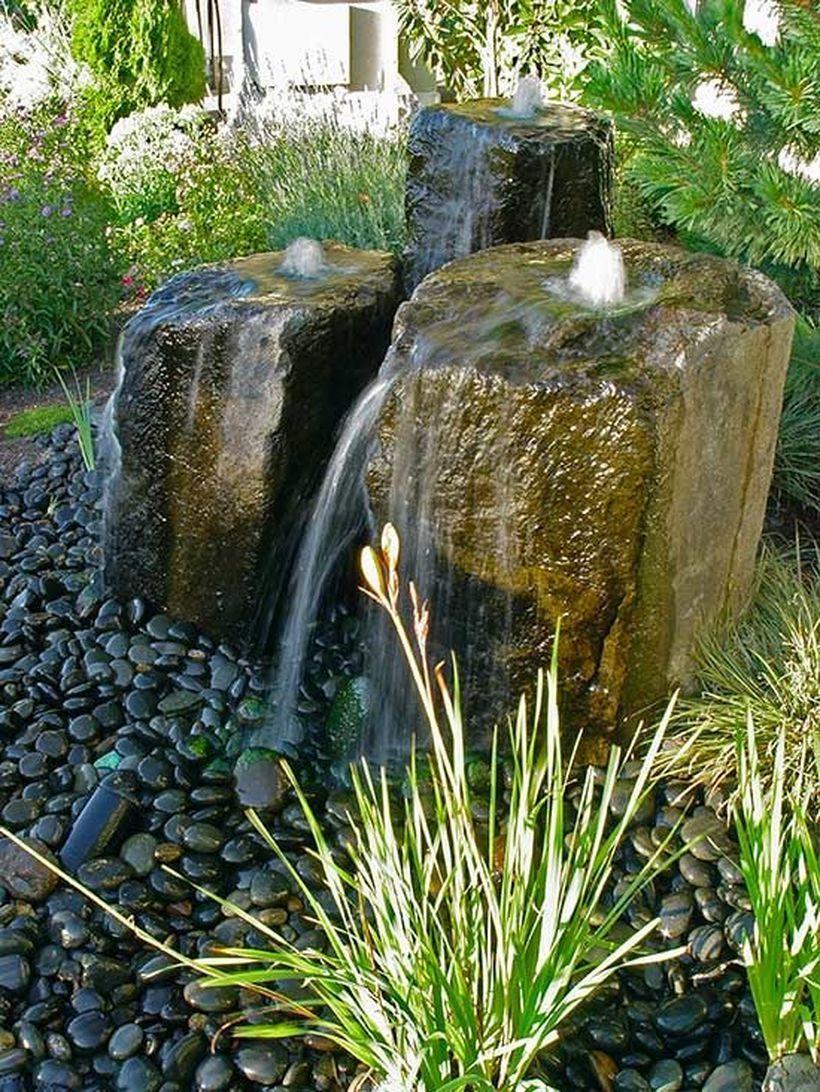 Zen Water Fountain Ideas For Garden