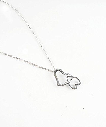 Double Heart Necklace Two Hearts Necklace Valentine T Guide