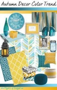 Living Room Decor Grey Mustard Teal 42 Ideas images