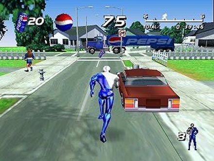 Image result for nostalgia game pepsiman