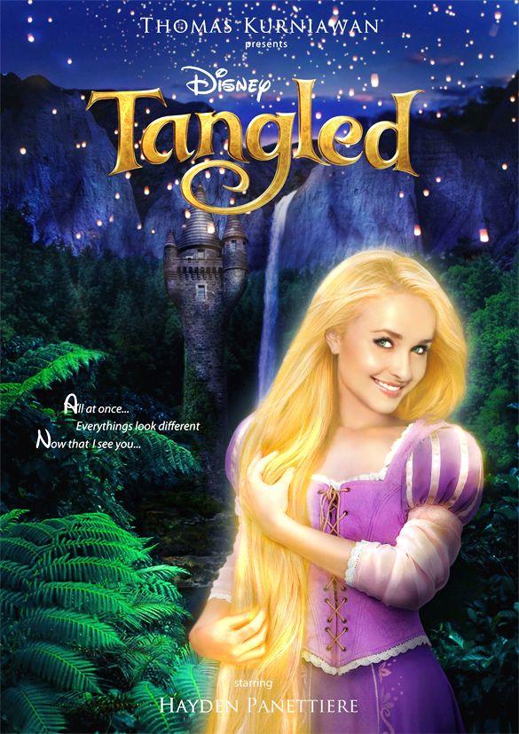 Bellas actrices convertidas en Princesas Disney