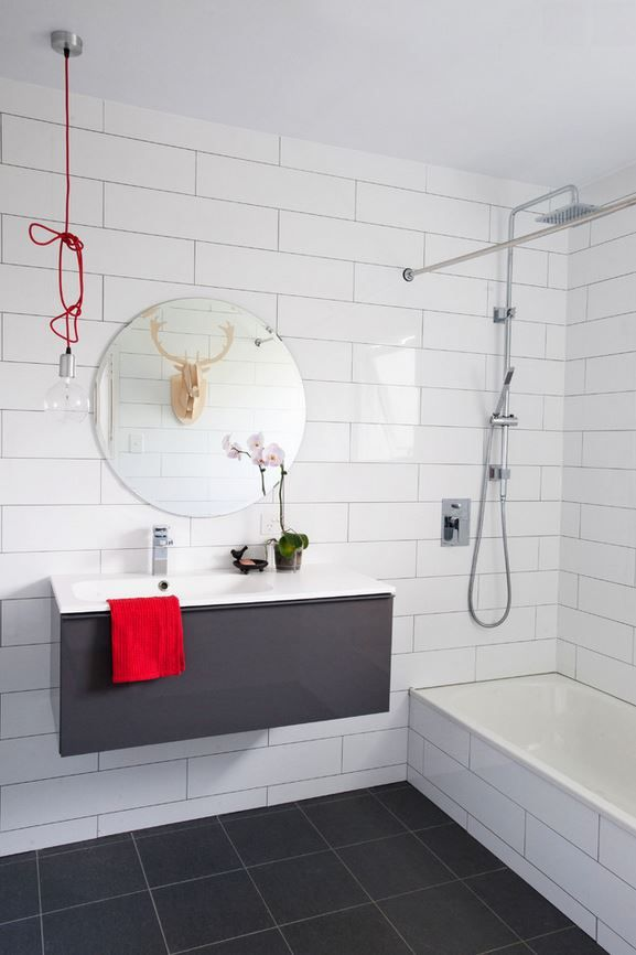 White Wall Tile Collection 6x18 Bright Glaze White Ice #ictctile ...