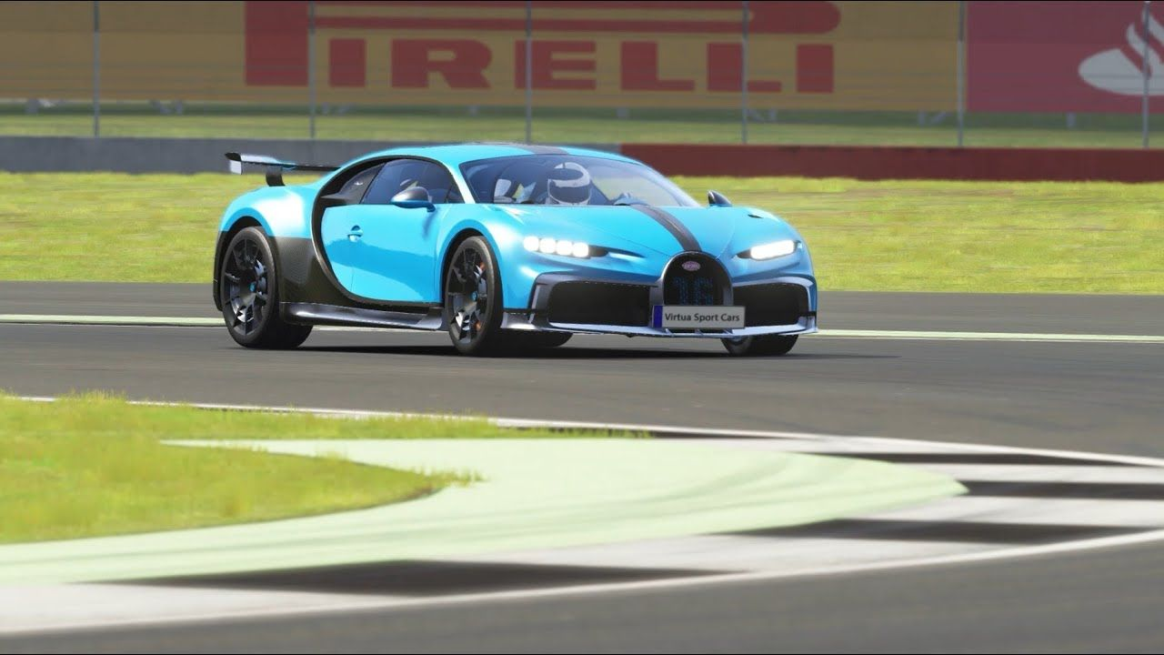 Bugatti Chiron Pur Sport '21 Top Gear Silverstone