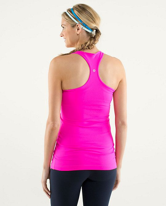 af65ecbe5ee Lululemon Cool Racerback ~ Raspberry Glo Light ~   Workout clothes ...