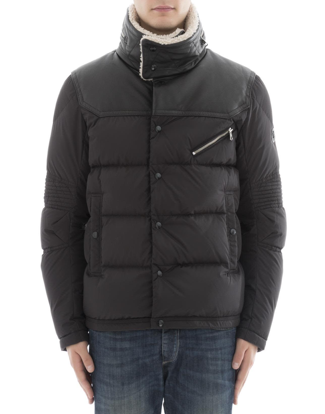 Moncler Black Poliamide Jacket ModeSens Jackets