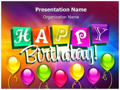 Download Our Professionally Designed Birthday Abstract Ppt