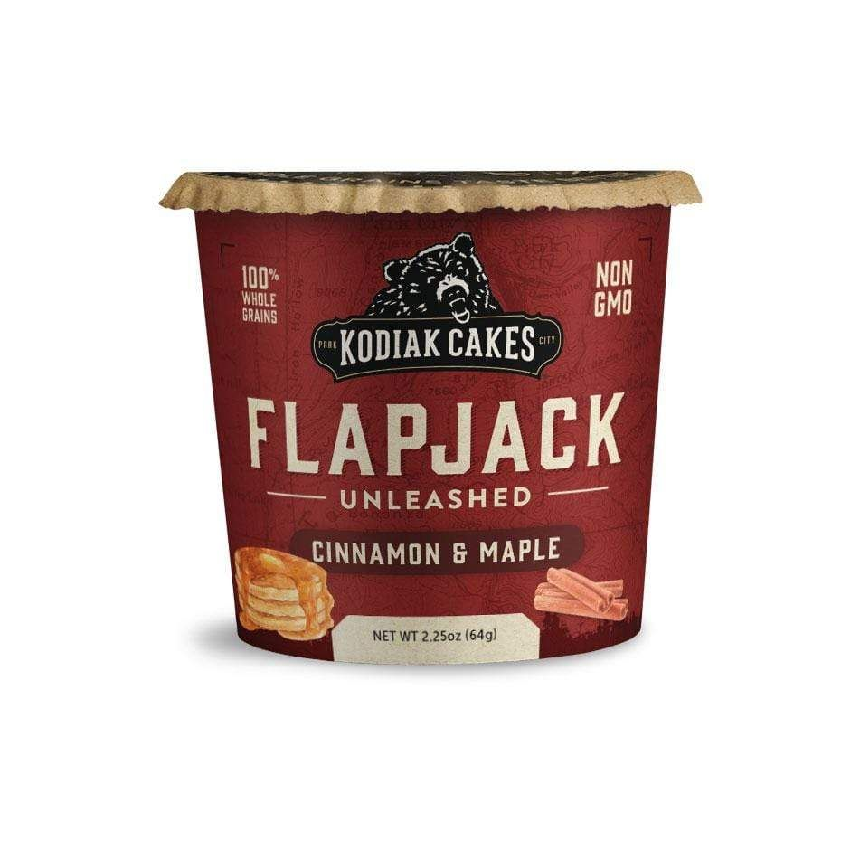 Cinnamon maple flapjack cup flapjack snack cups