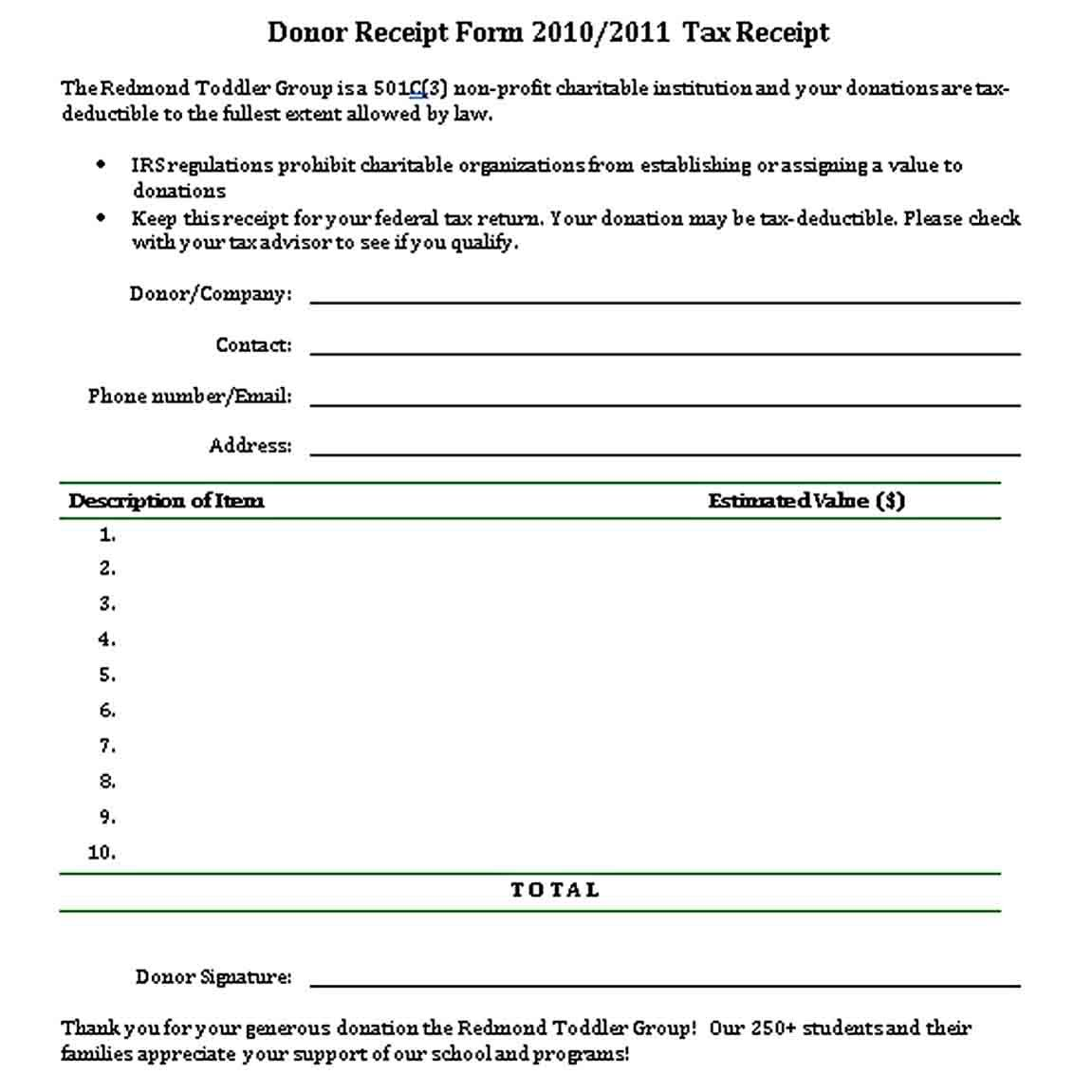 Best Printable Receipt In 2020 Create Invoice Business Template Receipt