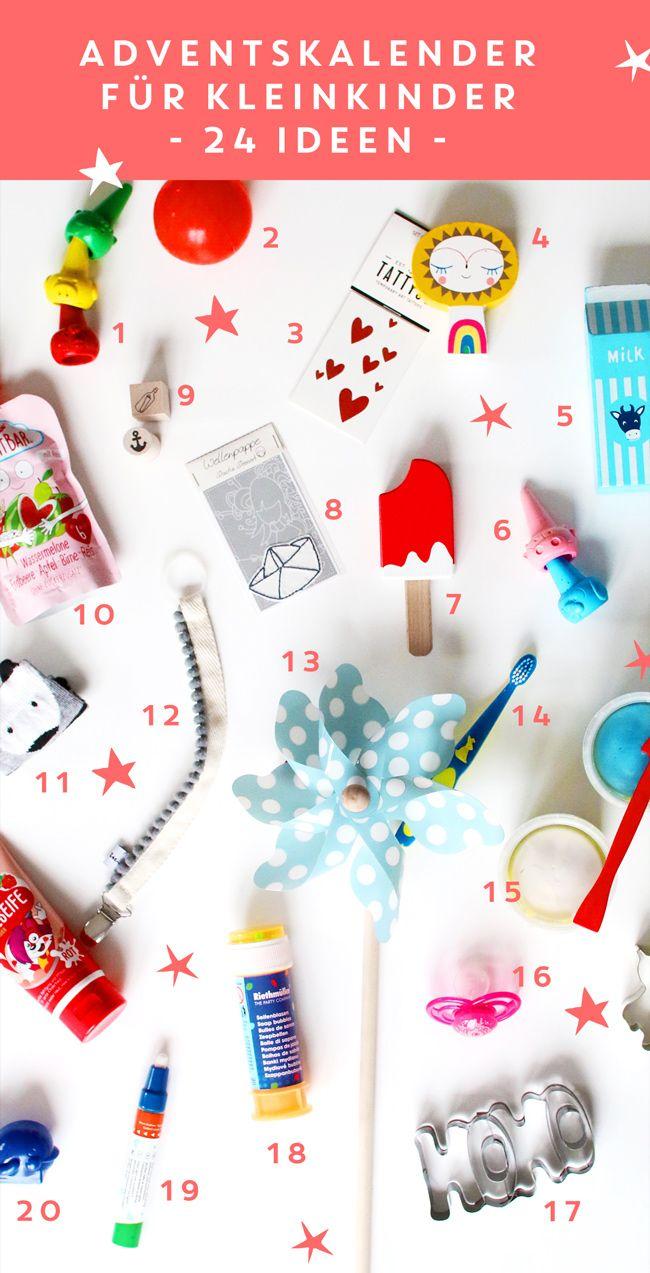 Adventskalender Füllen Ideen Kleinkinder.Kleinkind Adventskalender 24 Mal Freude Adventskalender