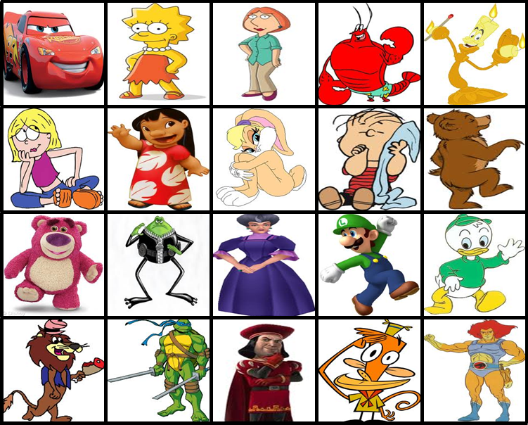 Cartoon Characters Beginning With E : Cartoon characters that start with a p ankaperla