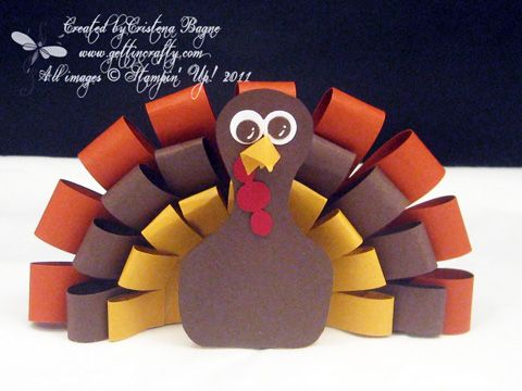 Happy Turkey Day by Cristena - Cards and Paper Crafts at Splitcoaststampers