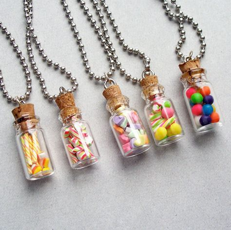 Holiday treat jar pendant necklace polymer clay miniature food holiday treat jar pendant necklace polymer clay miniature food jewelry on etsy 1209 aloadofball Gallery