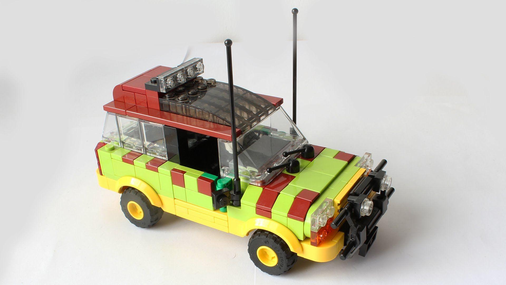 Lego Ford Explorer From Jurassic Park Instructions Lego Kits