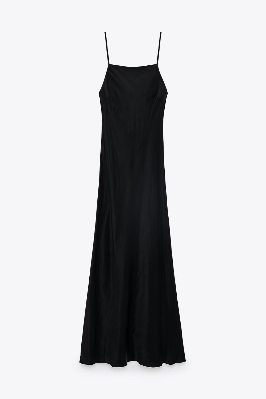 32+ Black satin slip dress information