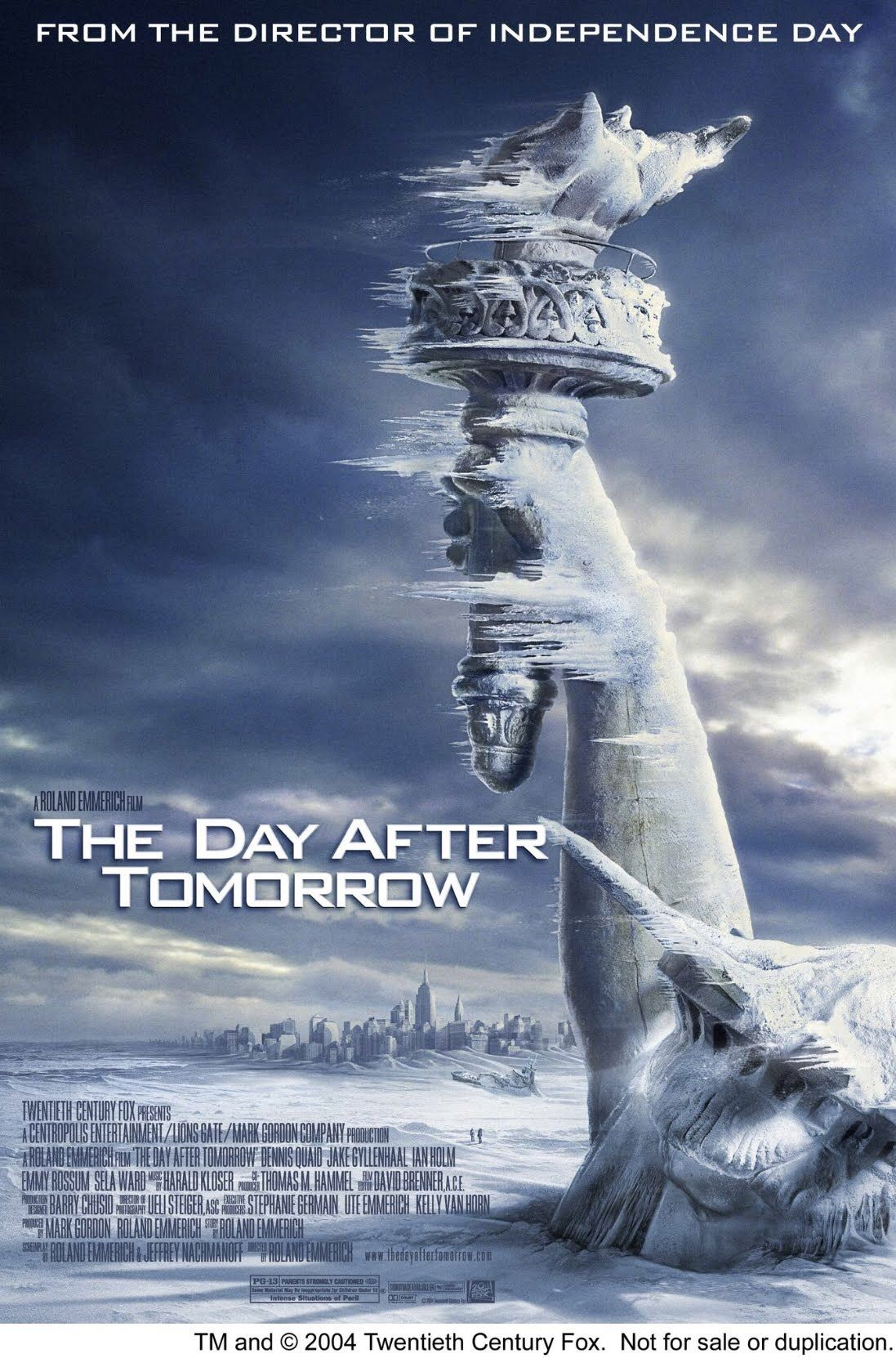 The Day After Tomorrow Streaming Movies Good Movies Movie Posters