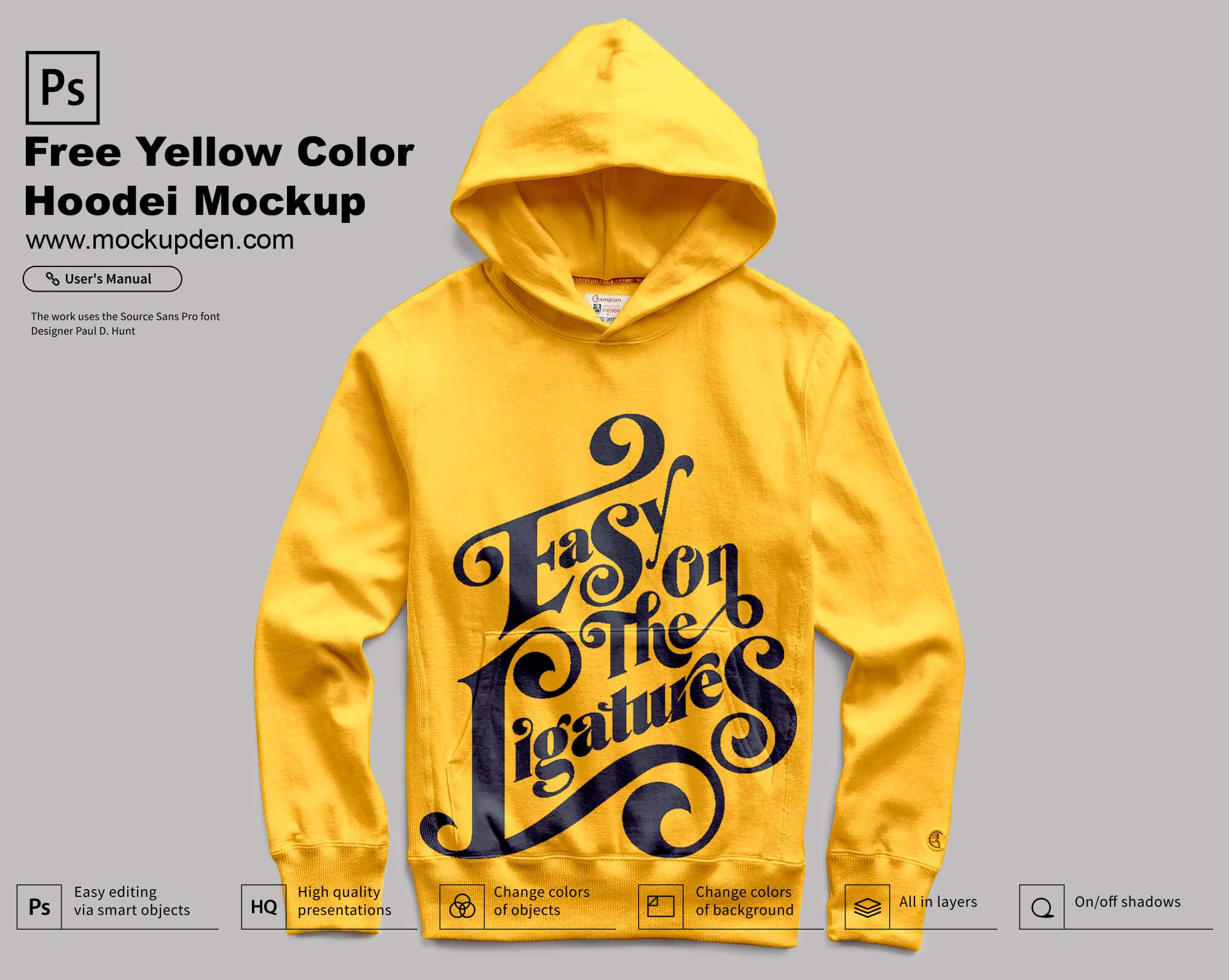 11952+ Hoodie Mockup Template Psd Free DXF Include