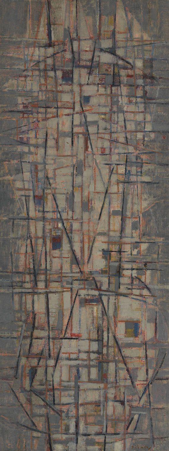 """thirdorgan: """" Karl Fred Dahmen (Germany, 1917 - 1981) Ohne Titel 1953 """""""