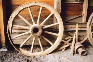 How To Build A Wooden Wagon Wheel For A Small Model In 2019