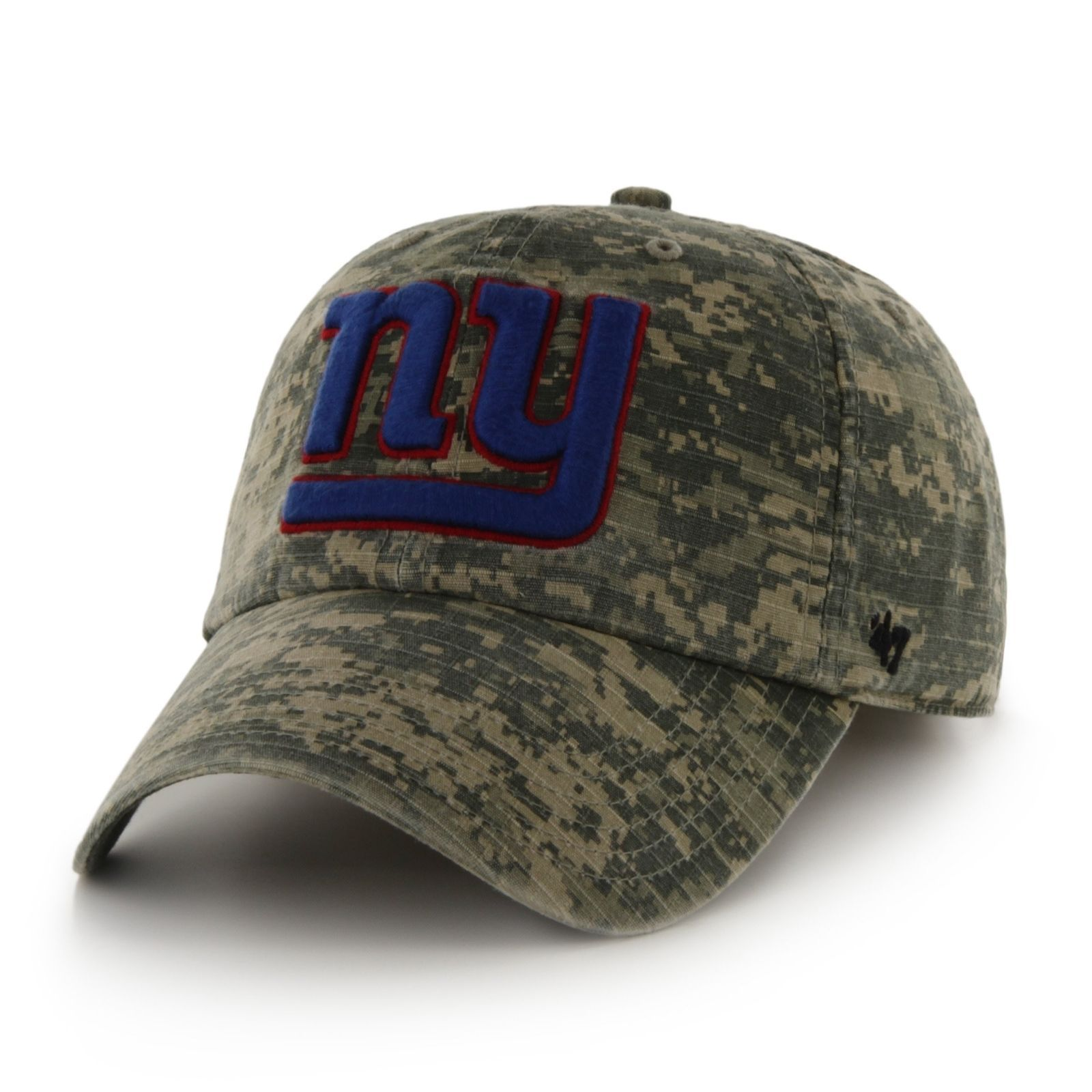 NFL Camo Officer  47 Clean Up Adjustable Hat New York Giants One ... a8eeeeac4