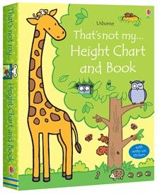 That's not my… height chart and book. Box Set $18.95 CA.