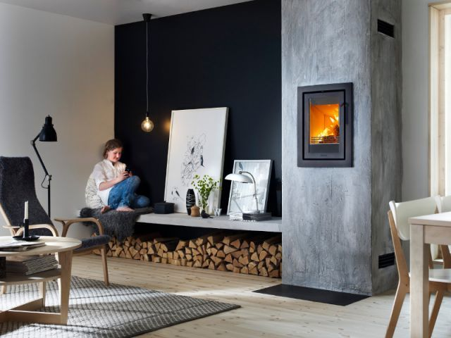 le bois de chauffage se fait une place dans la maison bois de chauffage chauffage et. Black Bedroom Furniture Sets. Home Design Ideas