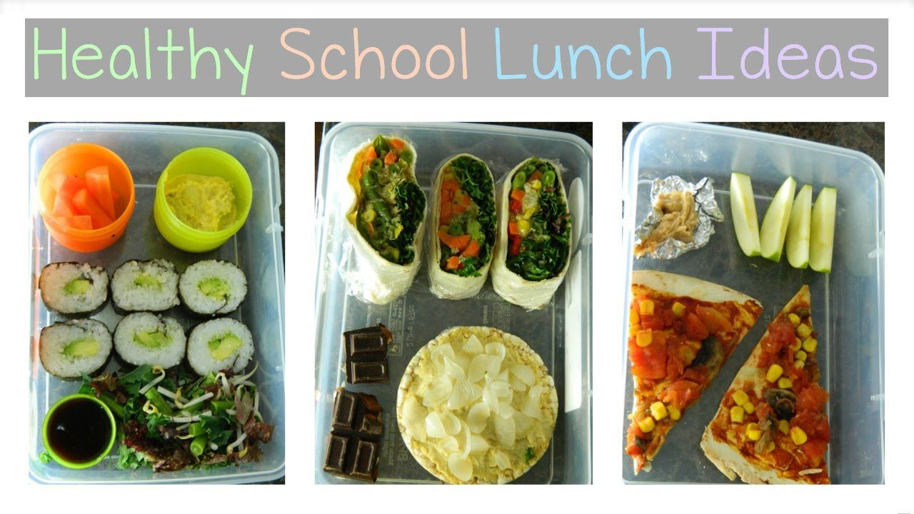 healthy school lunch ideas | vegan | veganism | pinterest | vegan
