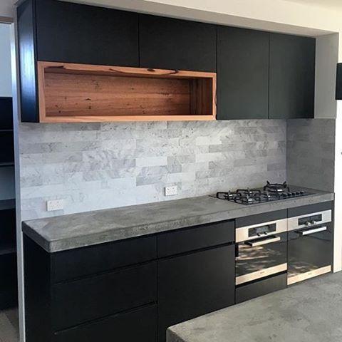 Pin By Jason Bautista On Home Upgrades Kitchen Design Timber Kitchen Concrete Kitchen