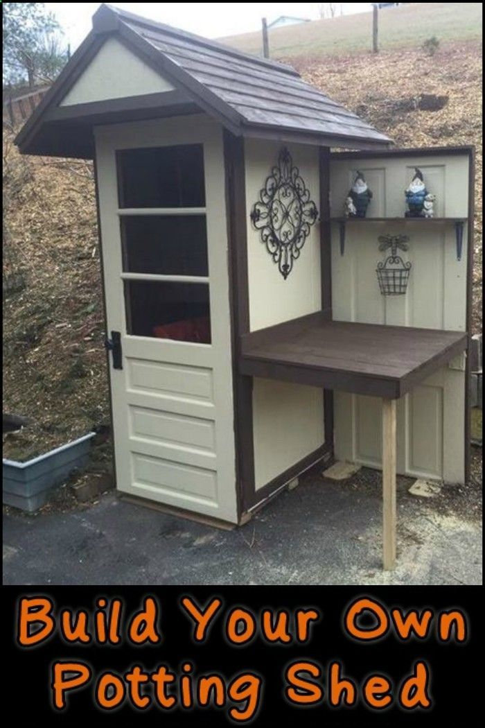 Shed DIY - How to Build Your Own Potting Shed Now You Can Build ANY