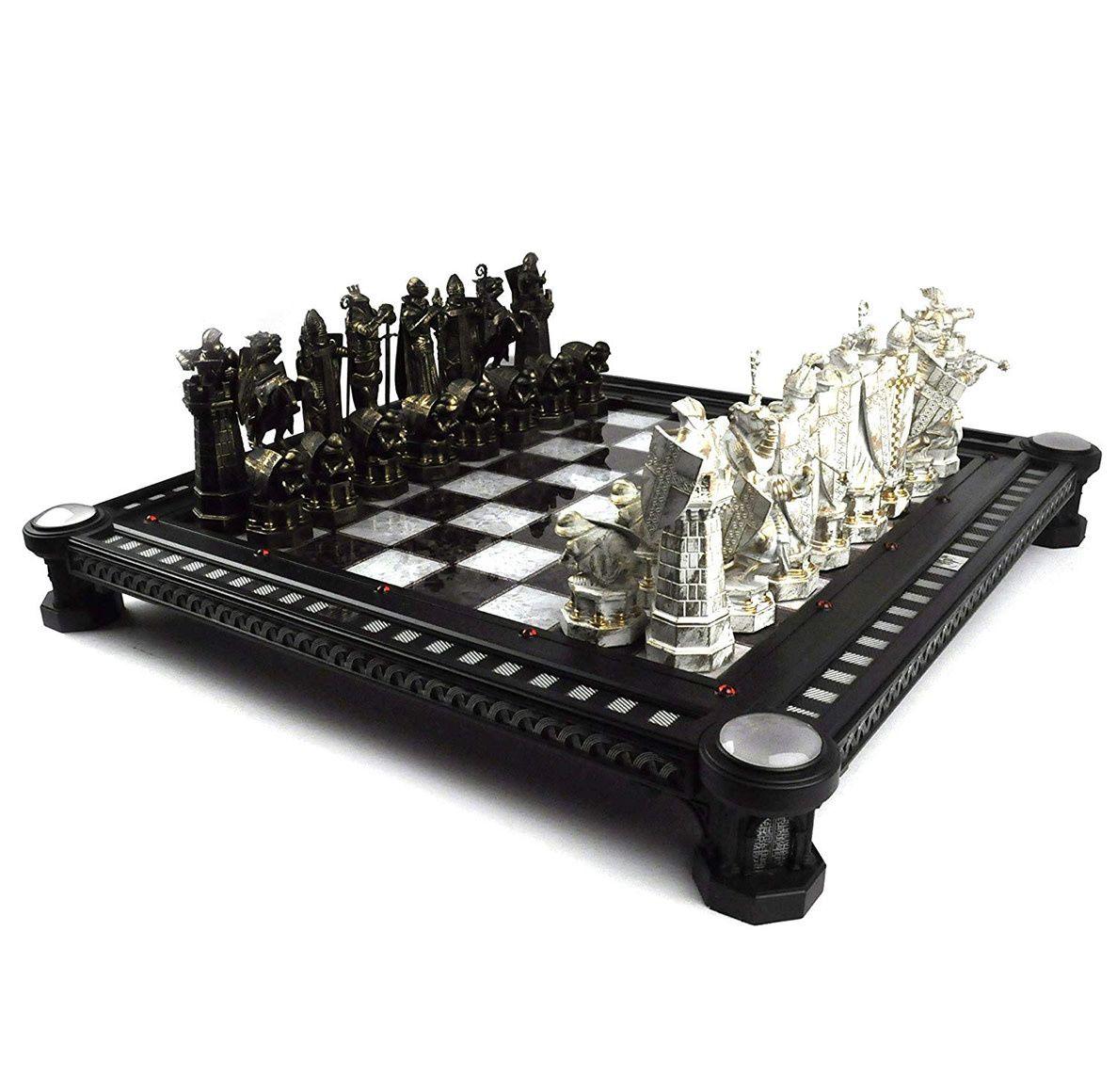 Harry Potter Final Challenge Chess Set Harry Potter Chess Harry Potter Chess Set Themed Chess Sets