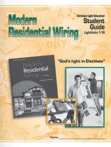 Modern residential wiring student