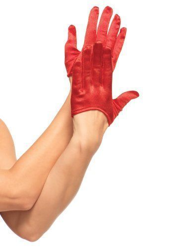 Harlequin Mini Cropped Gloves One Size