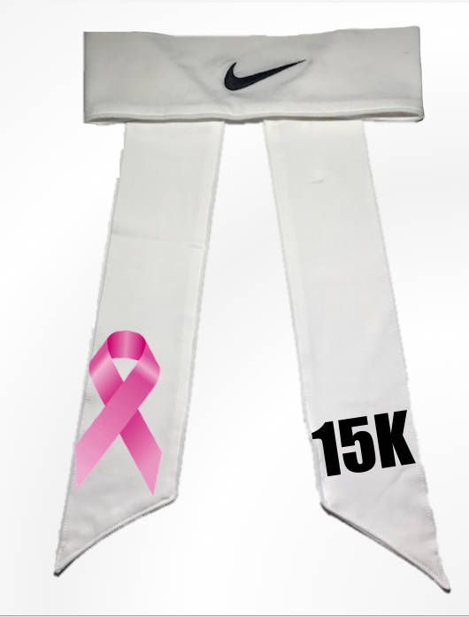 61c89af11d58b Custom Cancer Awareness Nike Dri-Fit Head Tie Headband Black ...