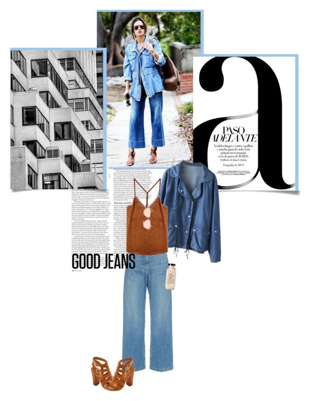 """Whether you fail or fly, well, s**t, at least you tried..."" by monica-vb ❤ liked on Polyvore featuring ASOS, Nico, Rachel Comey, Bamboo, Linda Farrow, StreetStyle, boho and Denimondenim"