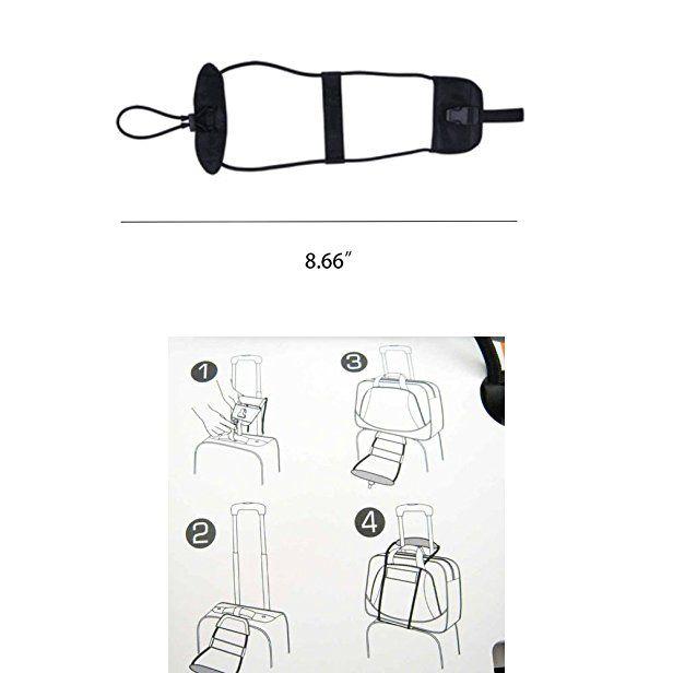 810a2d44418b Amazon.com | 2 Pack Luggage Bungee Luggage Strap Add a Bag ...