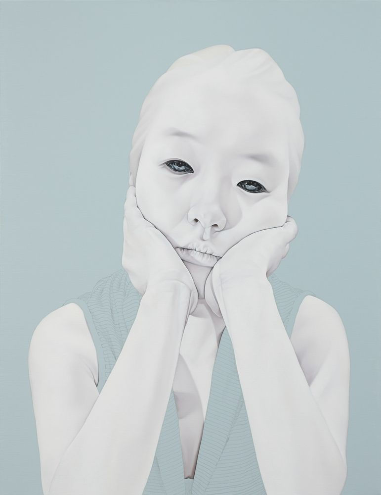 Melancholy paintings in muted colours that express a beautiful sadness   Creative Boom