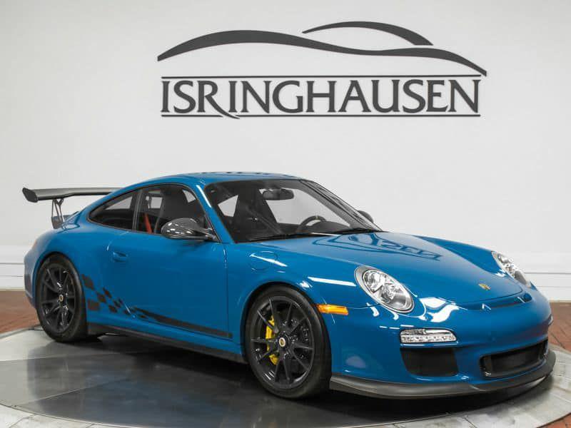 Porsche 997 Gt3 Rs Oslo Blue 1 Of 1 2011 Porsche 911 Porsche Porsche 911 Gt3