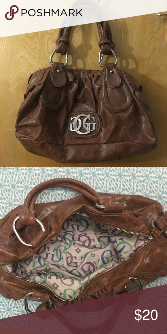 ... I just added this listing on Poshmark GUESS Brown Leather Handbag.  shopmycloset poshmark fashion shopping ... ae699cd9b9