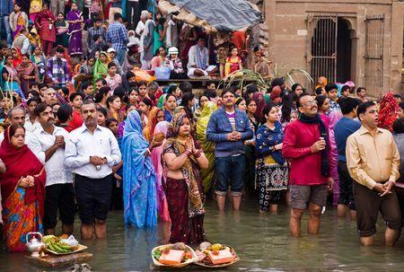 chhath puja photosantosh pandey  national geographic