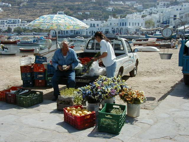Mykonos-town , Greece