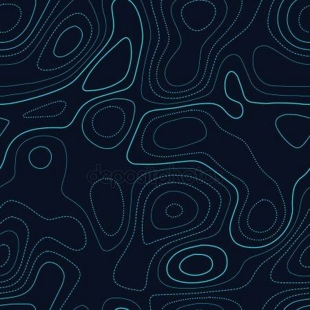 topography Actual topography map Futuristic seamless design radiant tile Amazing topography Actual topography map Futuristic seamless design radiant tile  Art Deco floral...