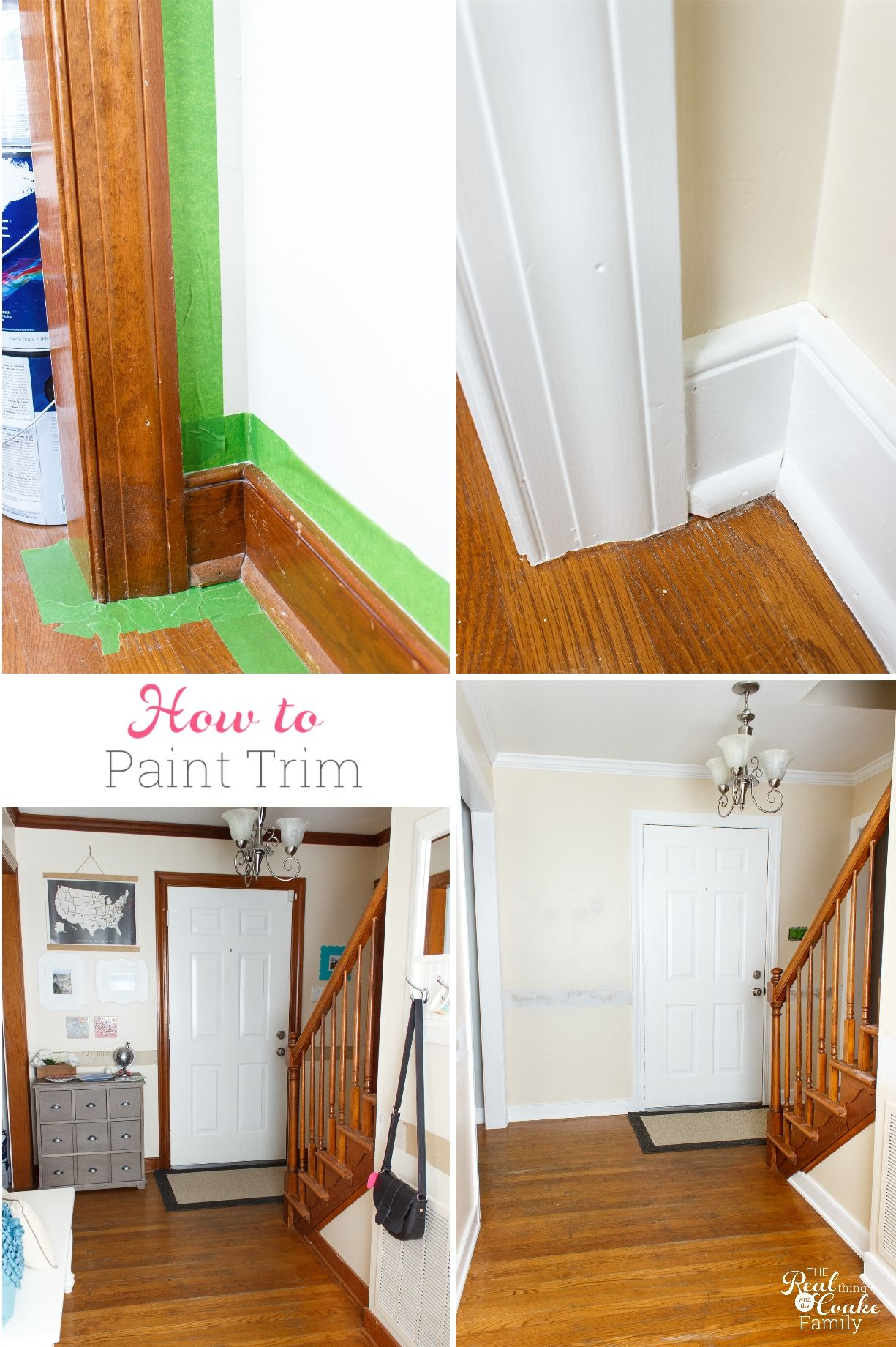 Such A Great Guide On How To Paint Trim It Goes Step By Complete This Simple Diy And Make Pretty Changes In My Home Decor