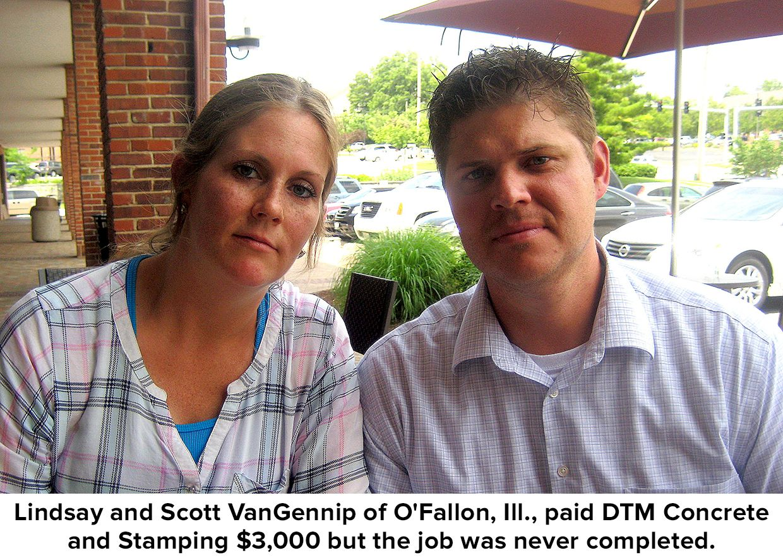 Warning On Dtm Concrete David Malmberg Take Money O Fallon