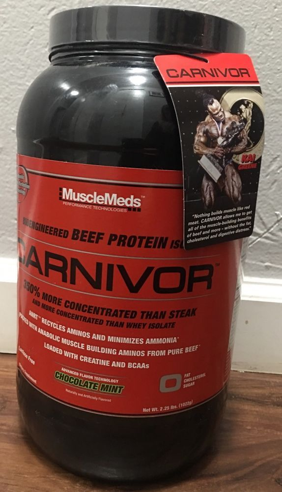 beef protein isolate or whey