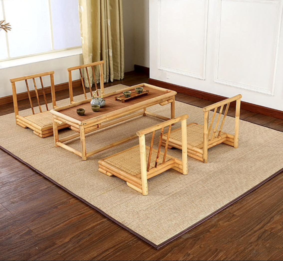 tapis bambou tapis design