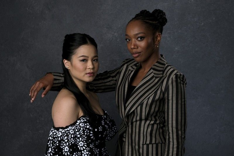 Kelly Marie Tran And Naomi Ackie Photographer Unknown Star Wars Cast Kelly People