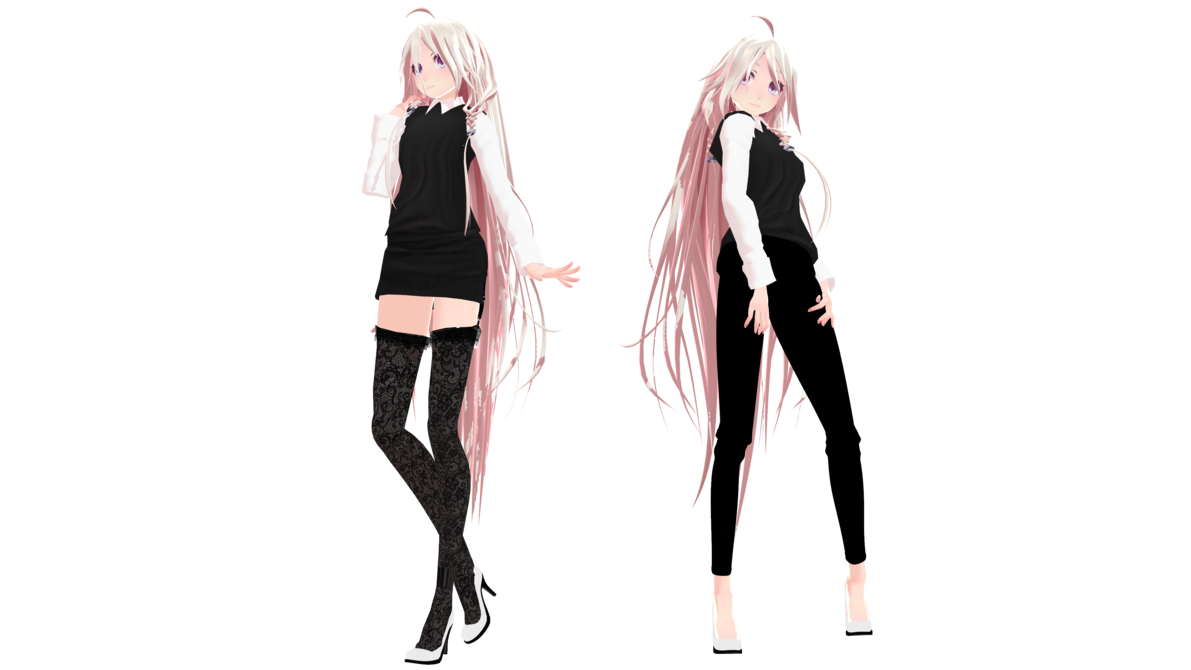 MMD Model Download TDA Office IA by https//kmanoc1