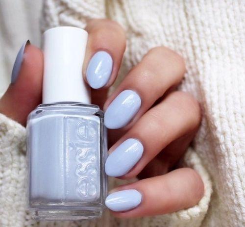 Imagem de nails, essie, and blue